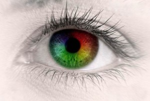 як око розрізняє кольори